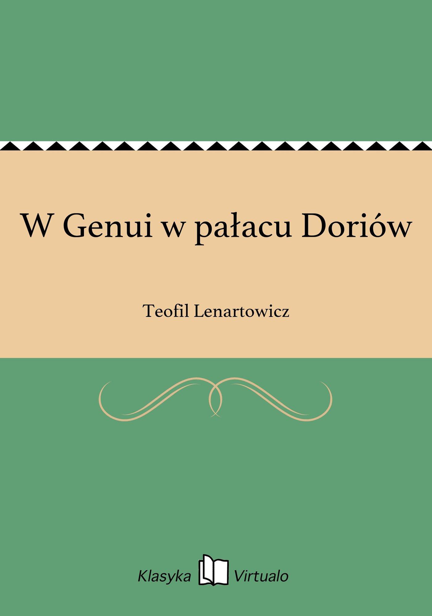 W Genui w pałacu Doriów - Ebook (Książka EPUB) do pobrania w formacie EPUB