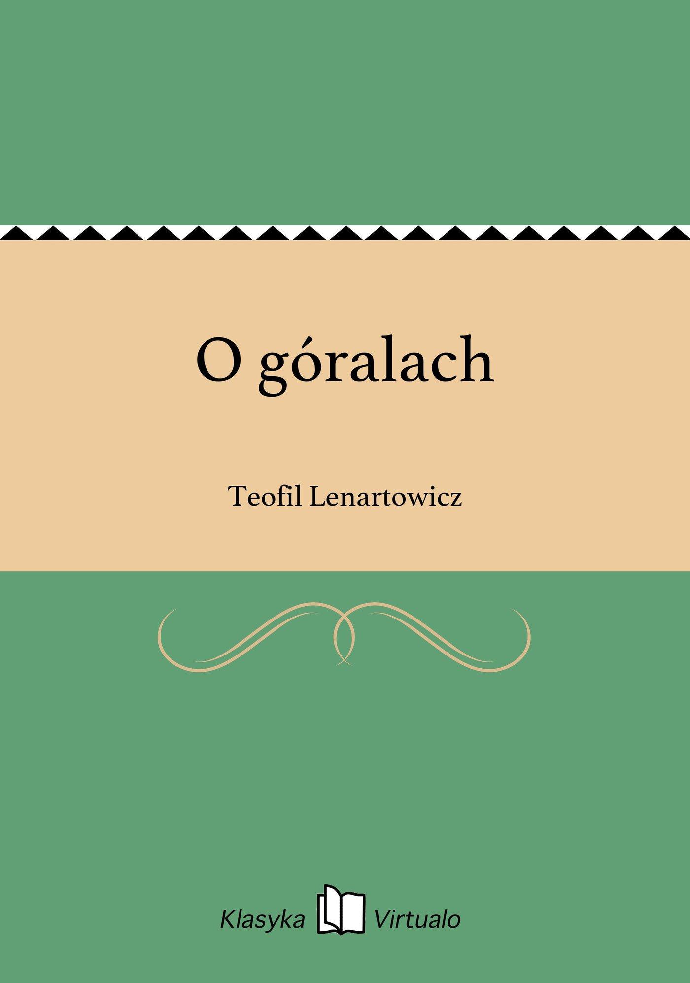 O góralach - Ebook (Książka EPUB) do pobrania w formacie EPUB