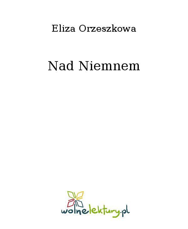 Nad Niemnem - Ebook (Książka EPUB) do pobrania w formacie EPUB