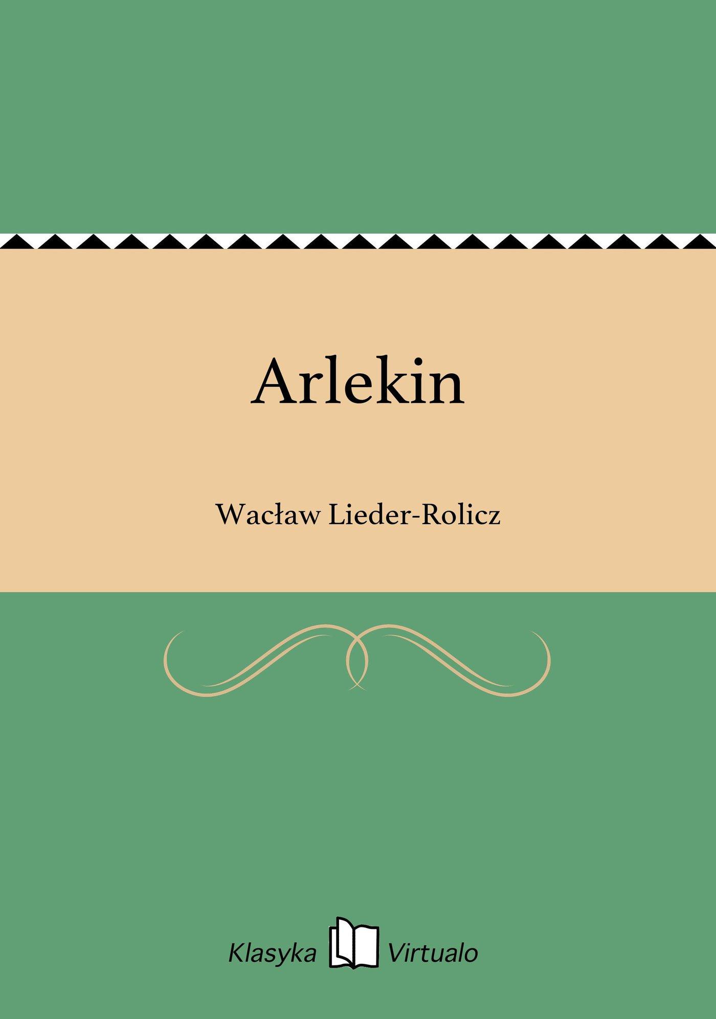 Arlekin - Ebook (Książka EPUB) do pobrania w formacie EPUB