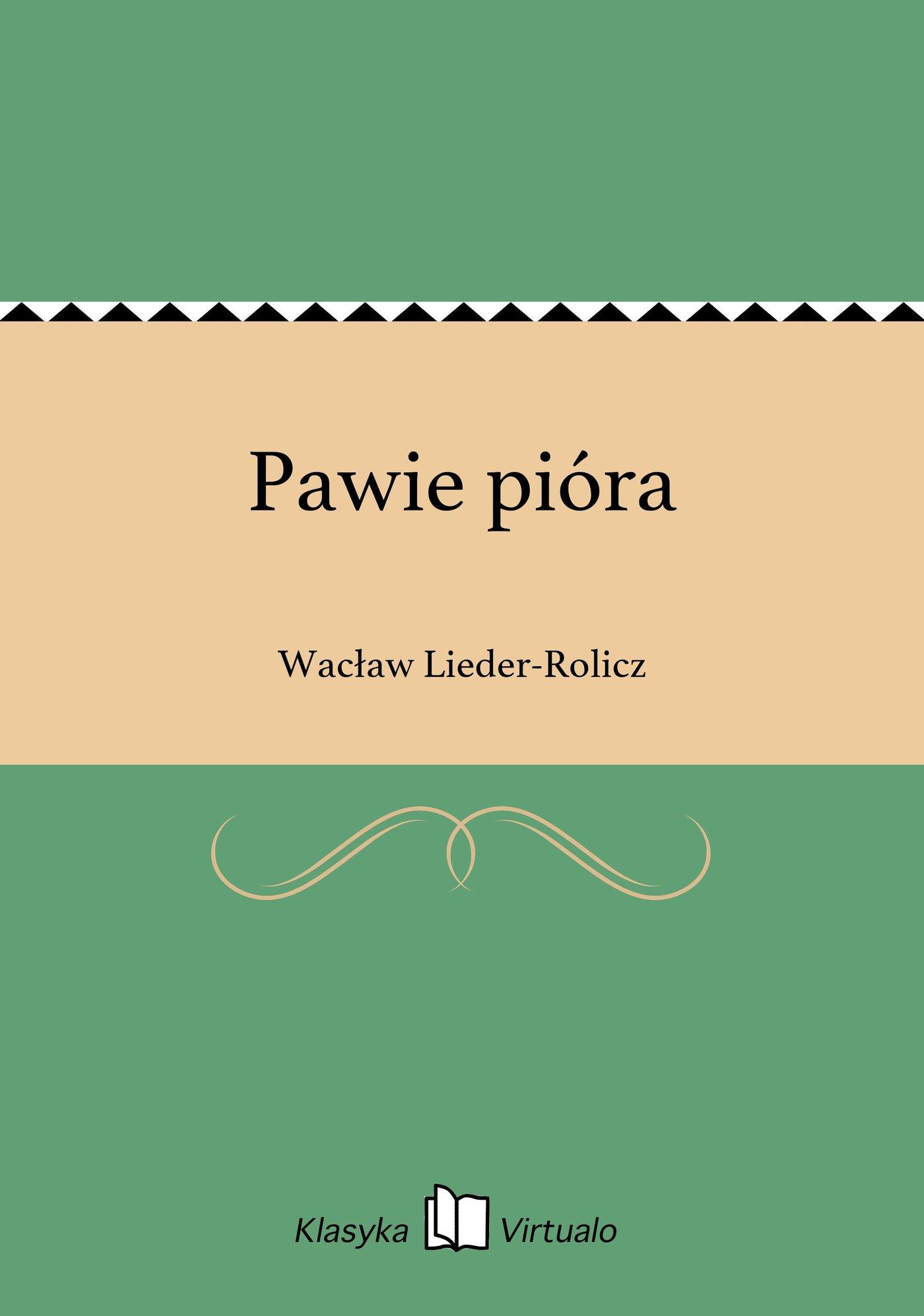 Pawie pióra - Ebook (Książka EPUB) do pobrania w formacie EPUB