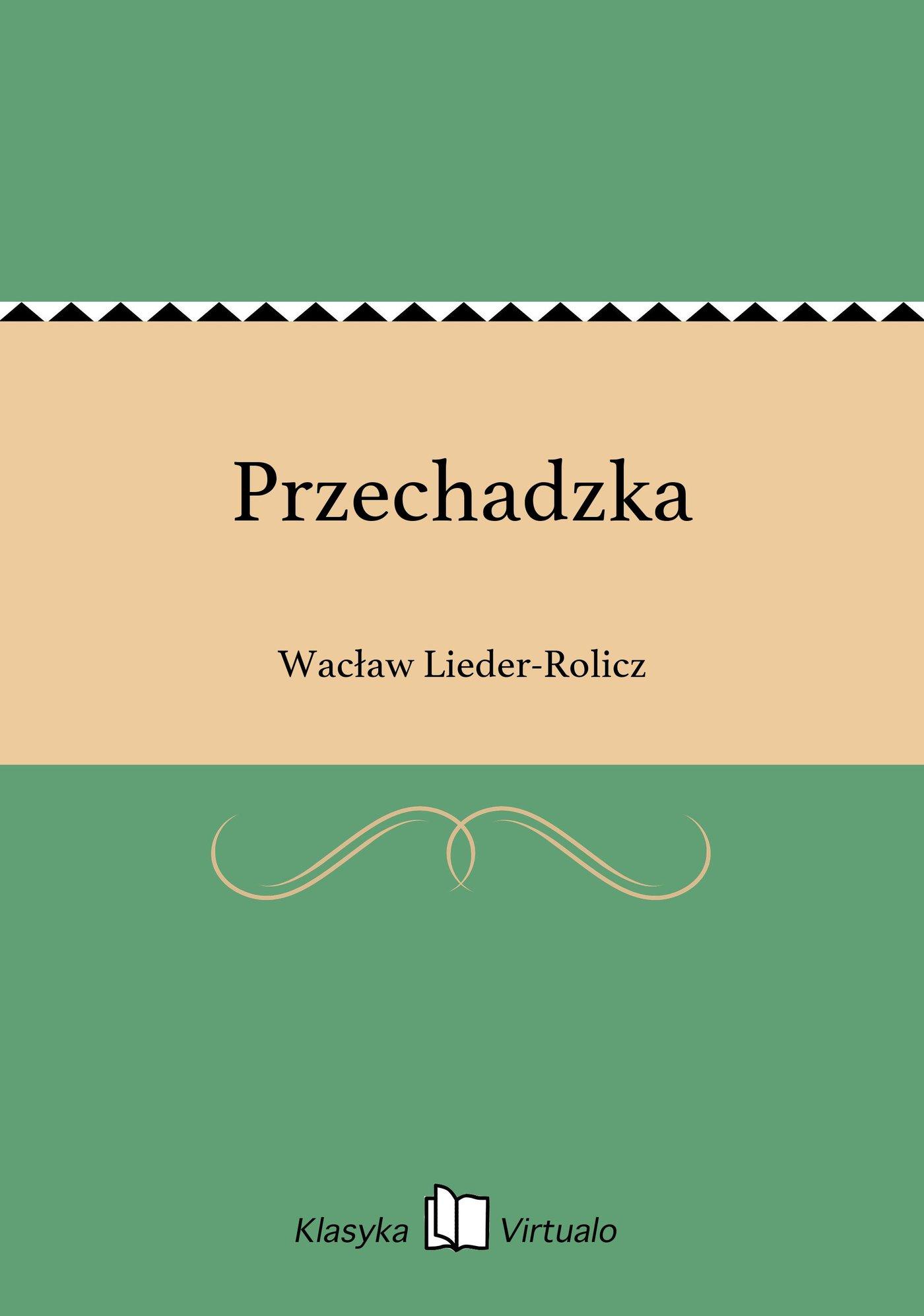 Przechadzka - Ebook (Książka EPUB) do pobrania w formacie EPUB