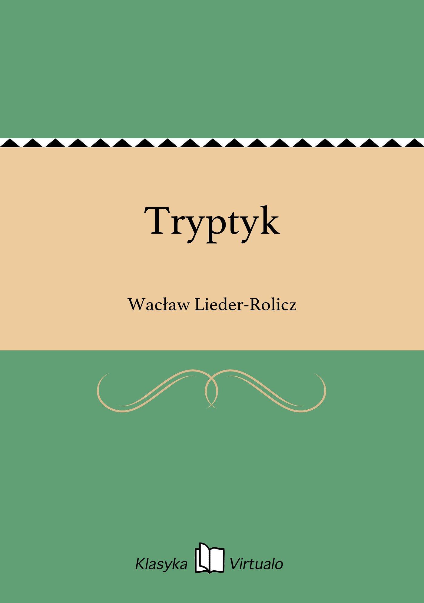 Tryptyk - Ebook (Książka EPUB) do pobrania w formacie EPUB