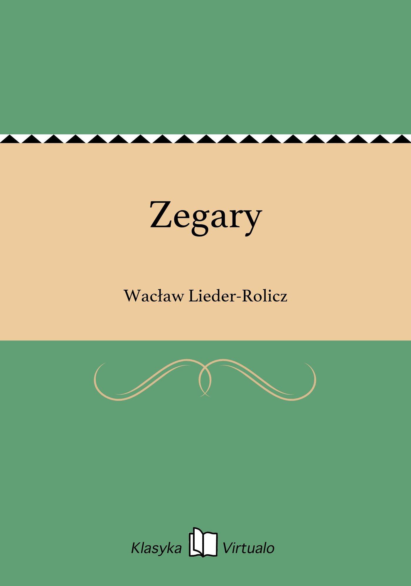 Zegary - Ebook (Książka EPUB) do pobrania w formacie EPUB