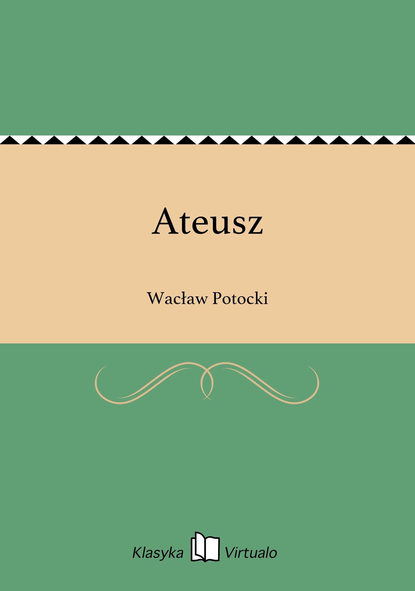 Ateusz - Ebook (Książka EPUB) do pobrania w formacie EPUB