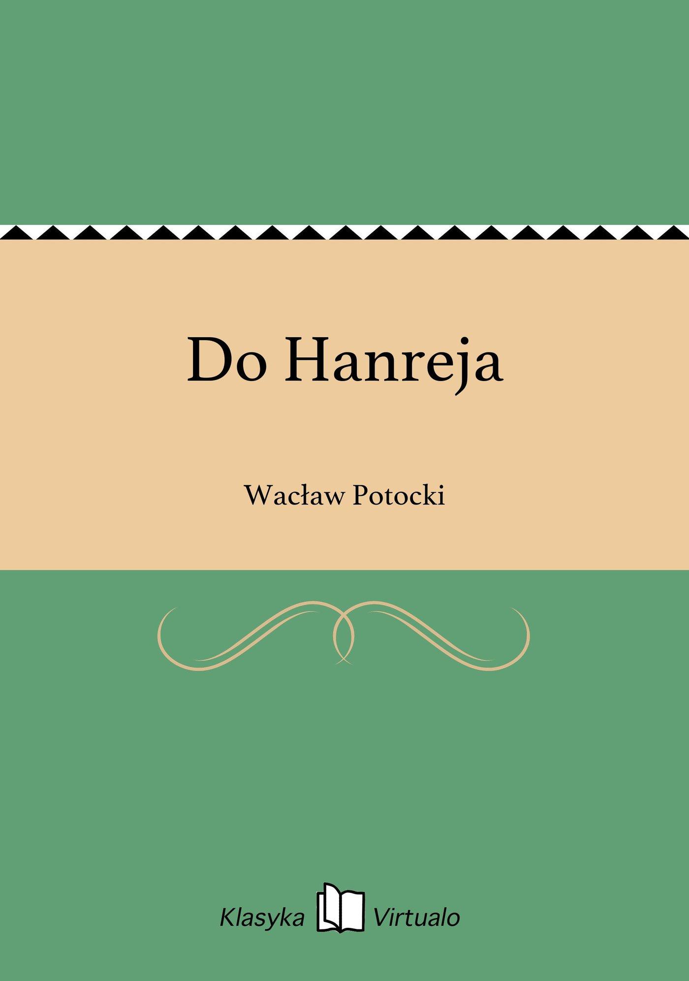 Do Hanreja - Ebook (Książka EPUB) do pobrania w formacie EPUB