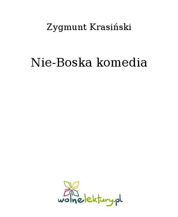 Nie-Boska komedia - Ebook (Książka EPUB) do pobrania w formacie EPUB