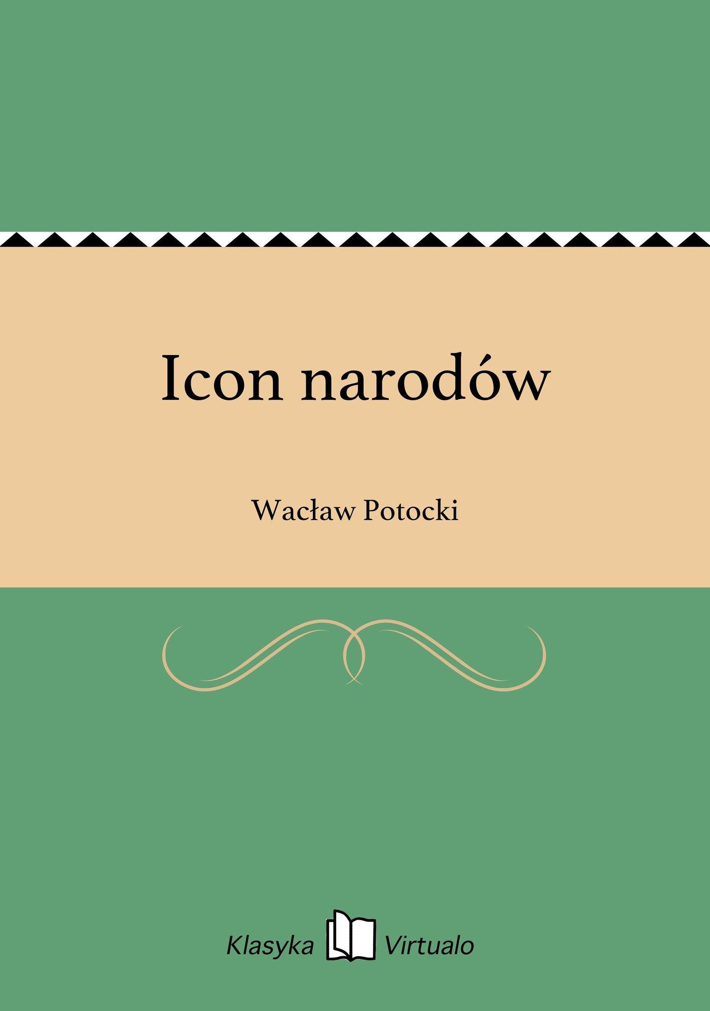 Icon narodów - Ebook (Książka EPUB) do pobrania w formacie EPUB
