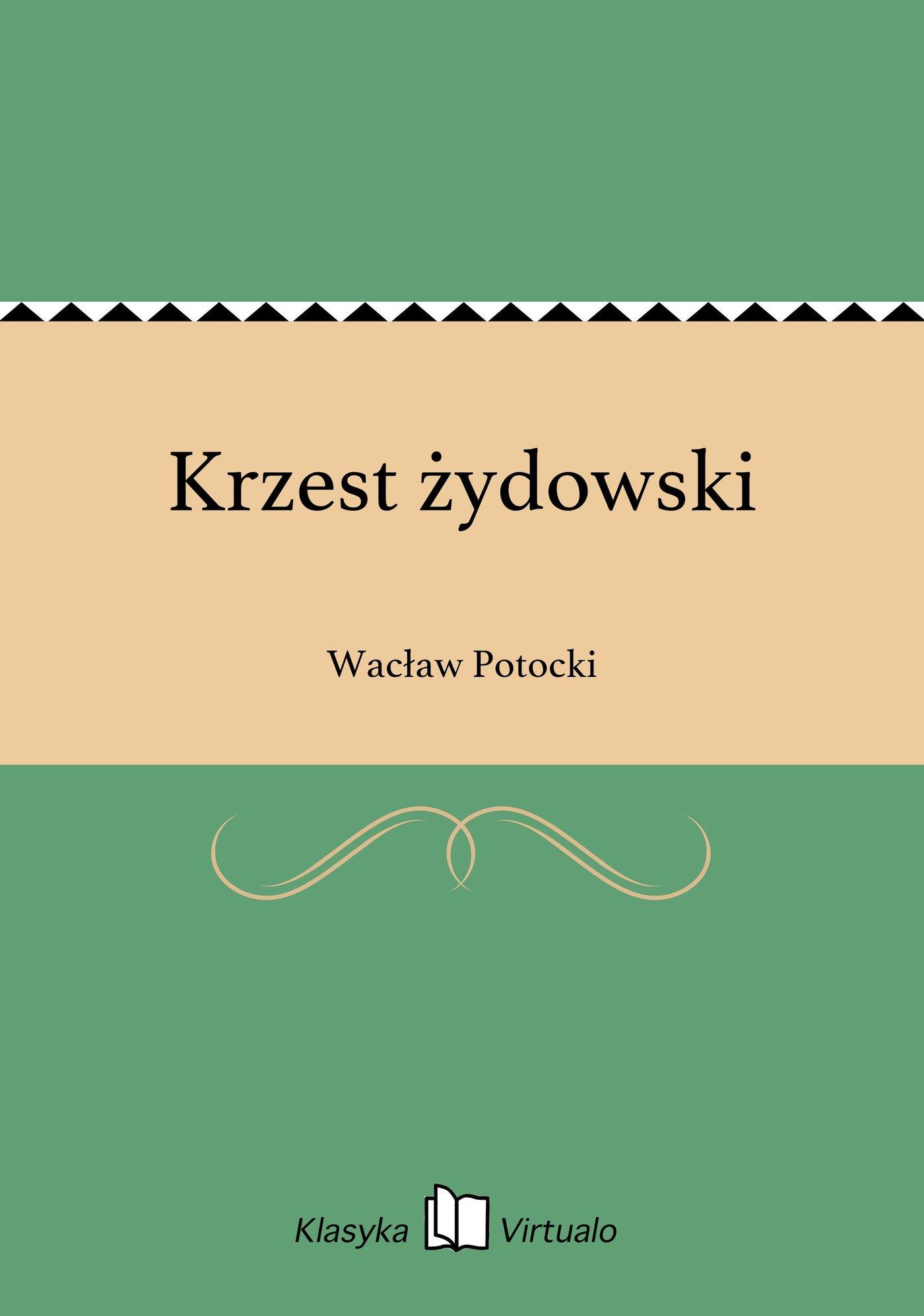 Krzest żydowski - Ebook (Książka EPUB) do pobrania w formacie EPUB