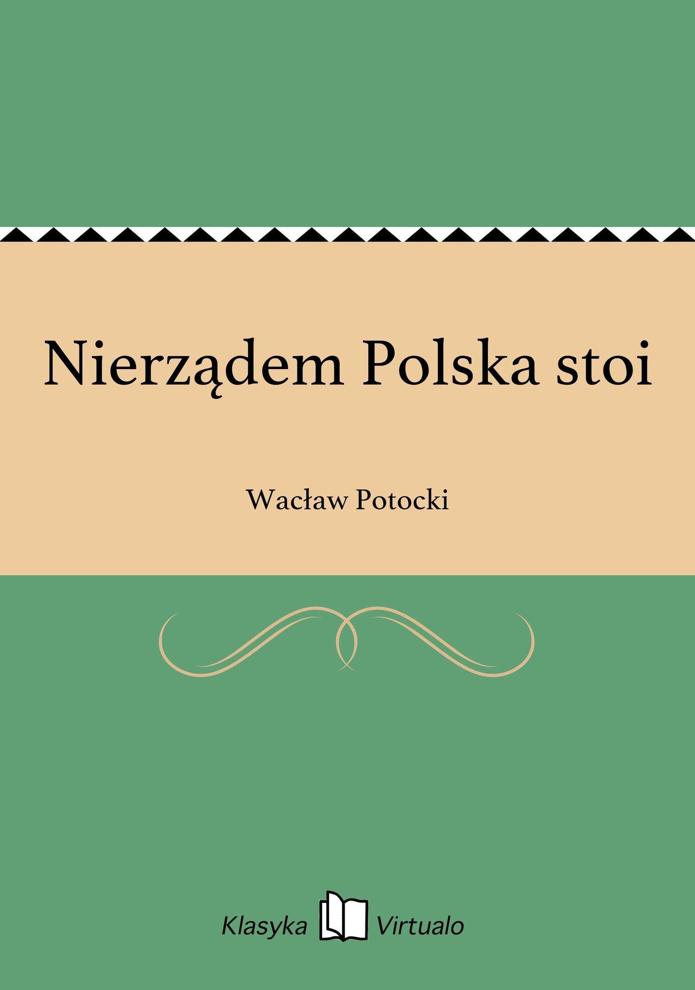Nierządem Polska stoi - Ebook (Książka EPUB) do pobrania w formacie EPUB
