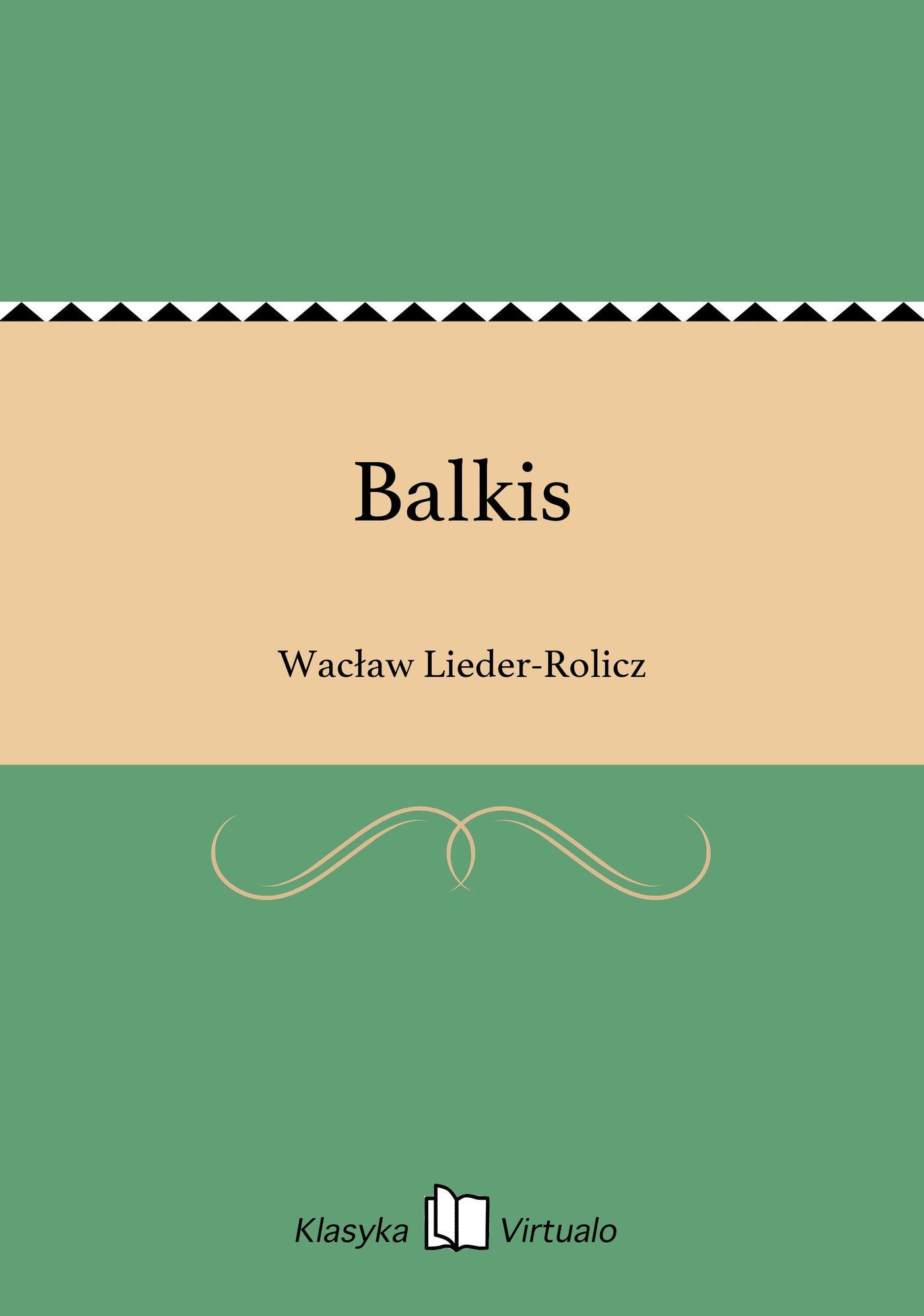 Balkis - Ebook (Książka EPUB) do pobrania w formacie EPUB