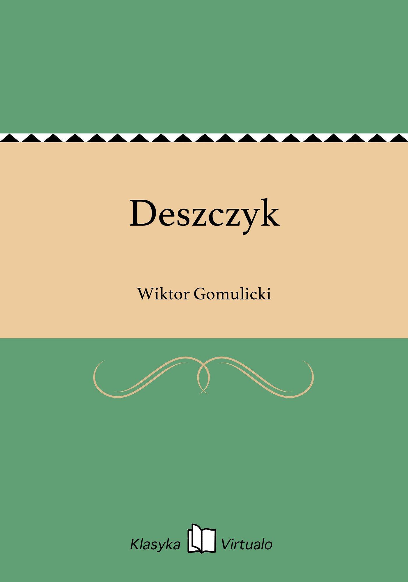 Deszczyk - Ebook (Książka EPUB) do pobrania w formacie EPUB