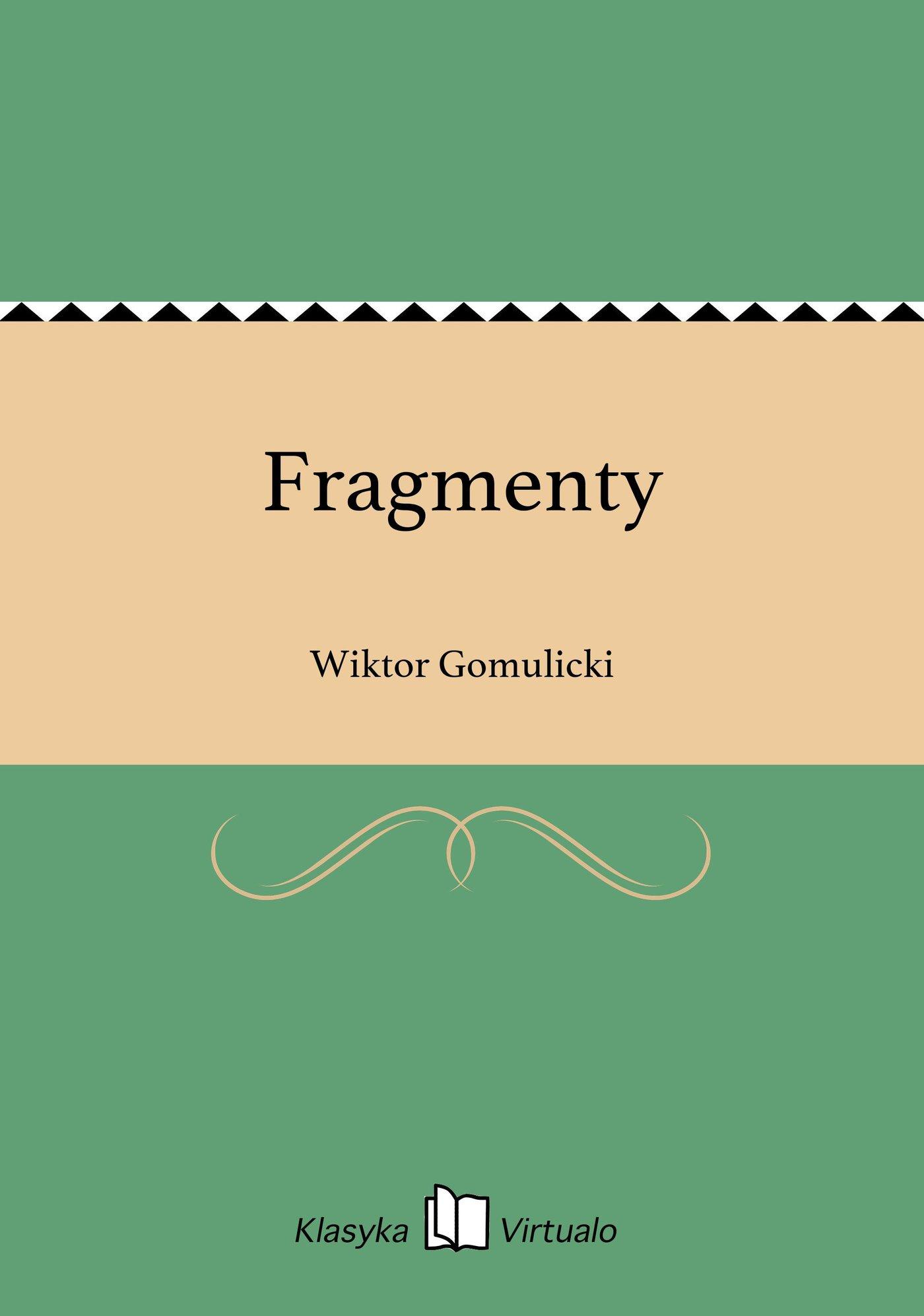 Fragmenty - Ebook (Książka EPUB) do pobrania w formacie EPUB