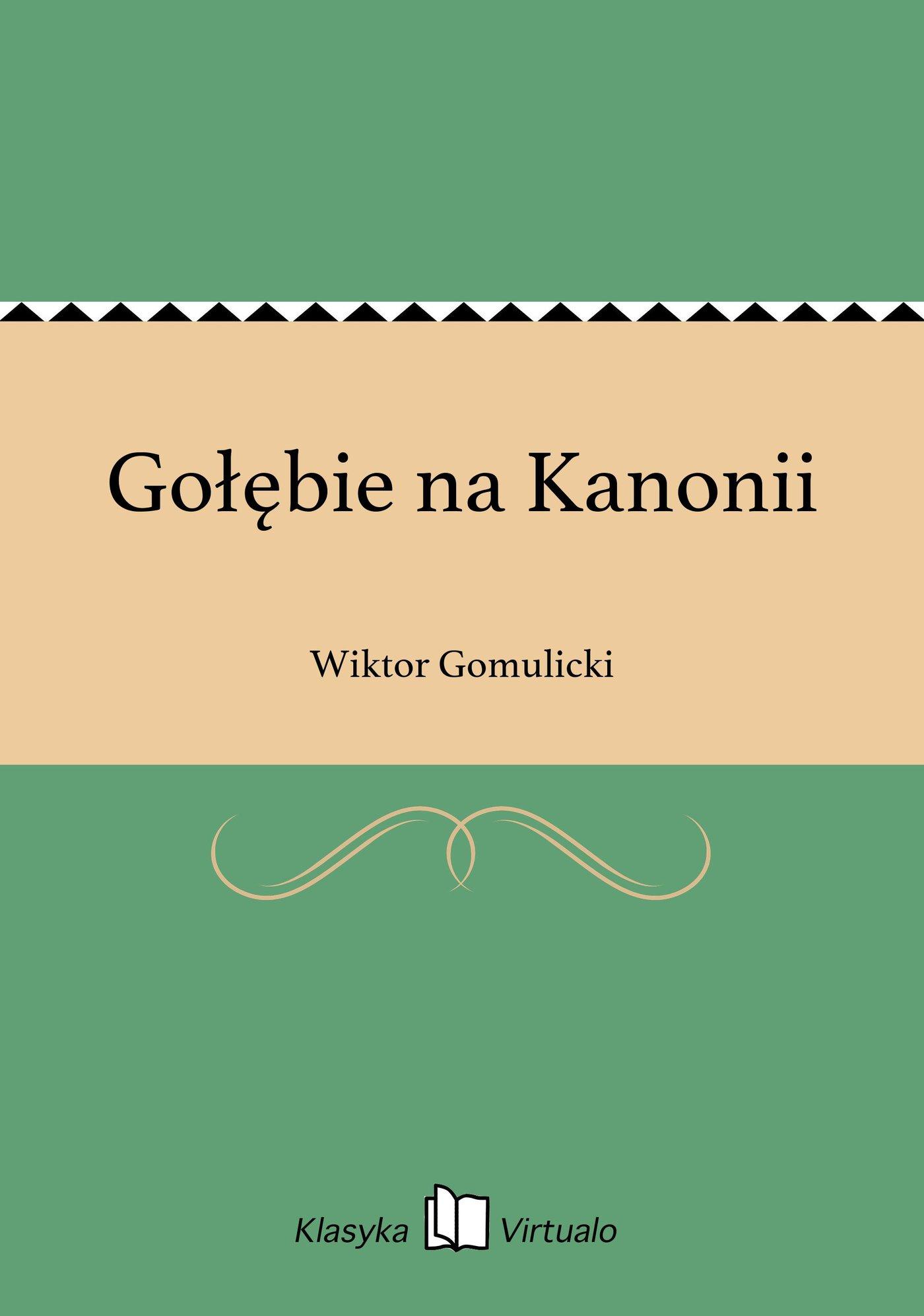 Gołębie na Kanonii - Ebook (Książka EPUB) do pobrania w formacie EPUB
