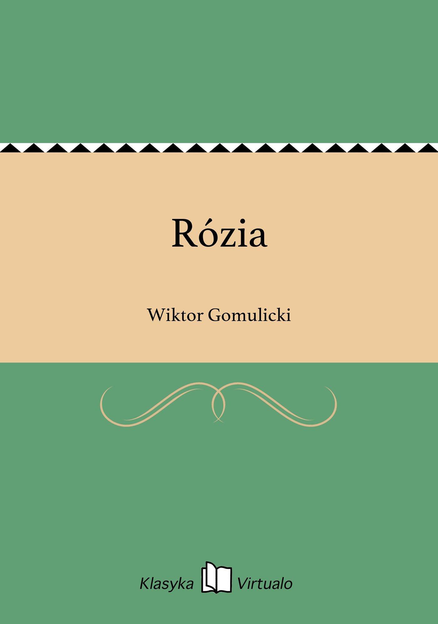 Rózia - Ebook (Książka EPUB) do pobrania w formacie EPUB