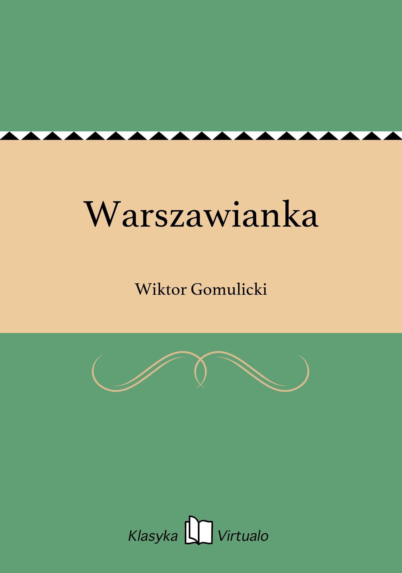Warszawianka - Ebook (Książka EPUB) do pobrania w formacie EPUB