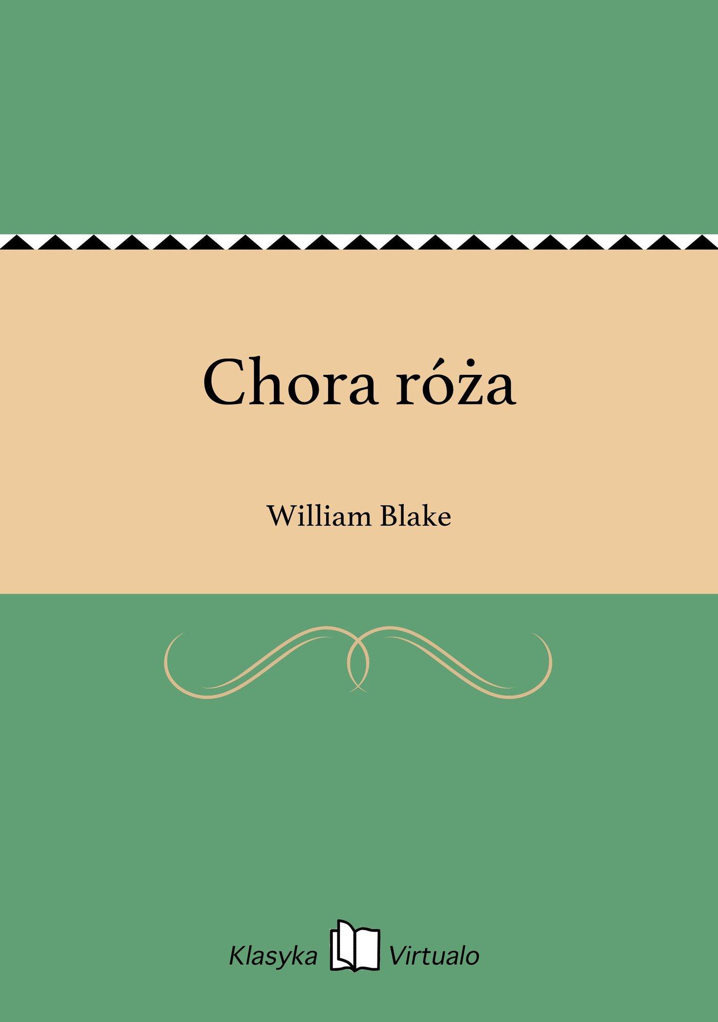Chora róża - Ebook (Książka EPUB) do pobrania w formacie EPUB