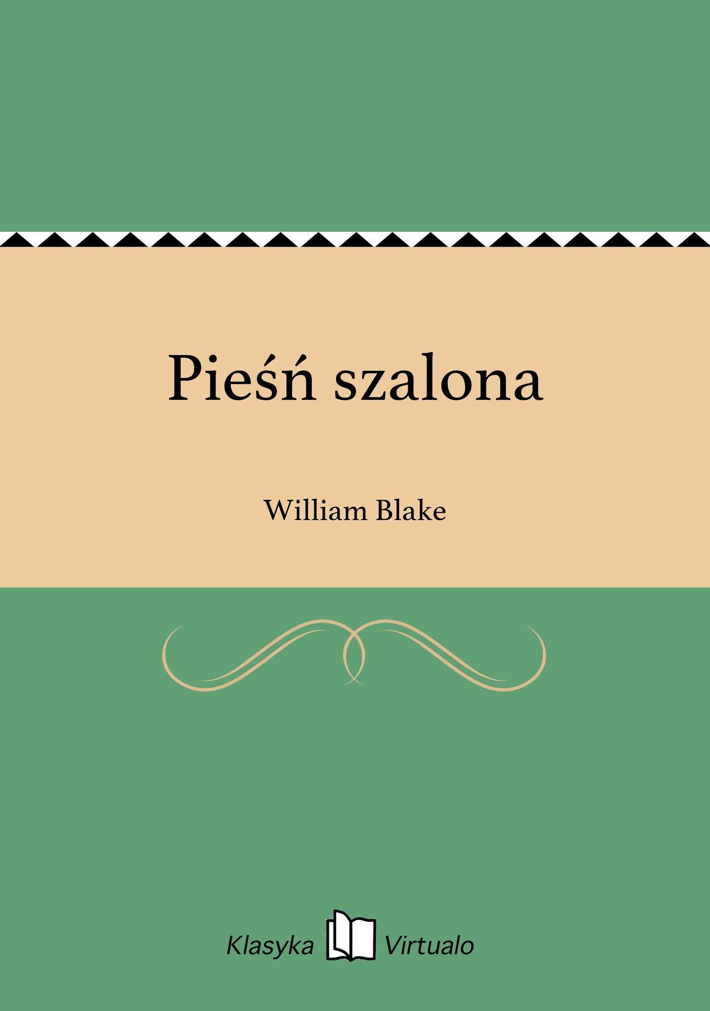 Pieśń szalona - Ebook (Książka EPUB) do pobrania w formacie EPUB