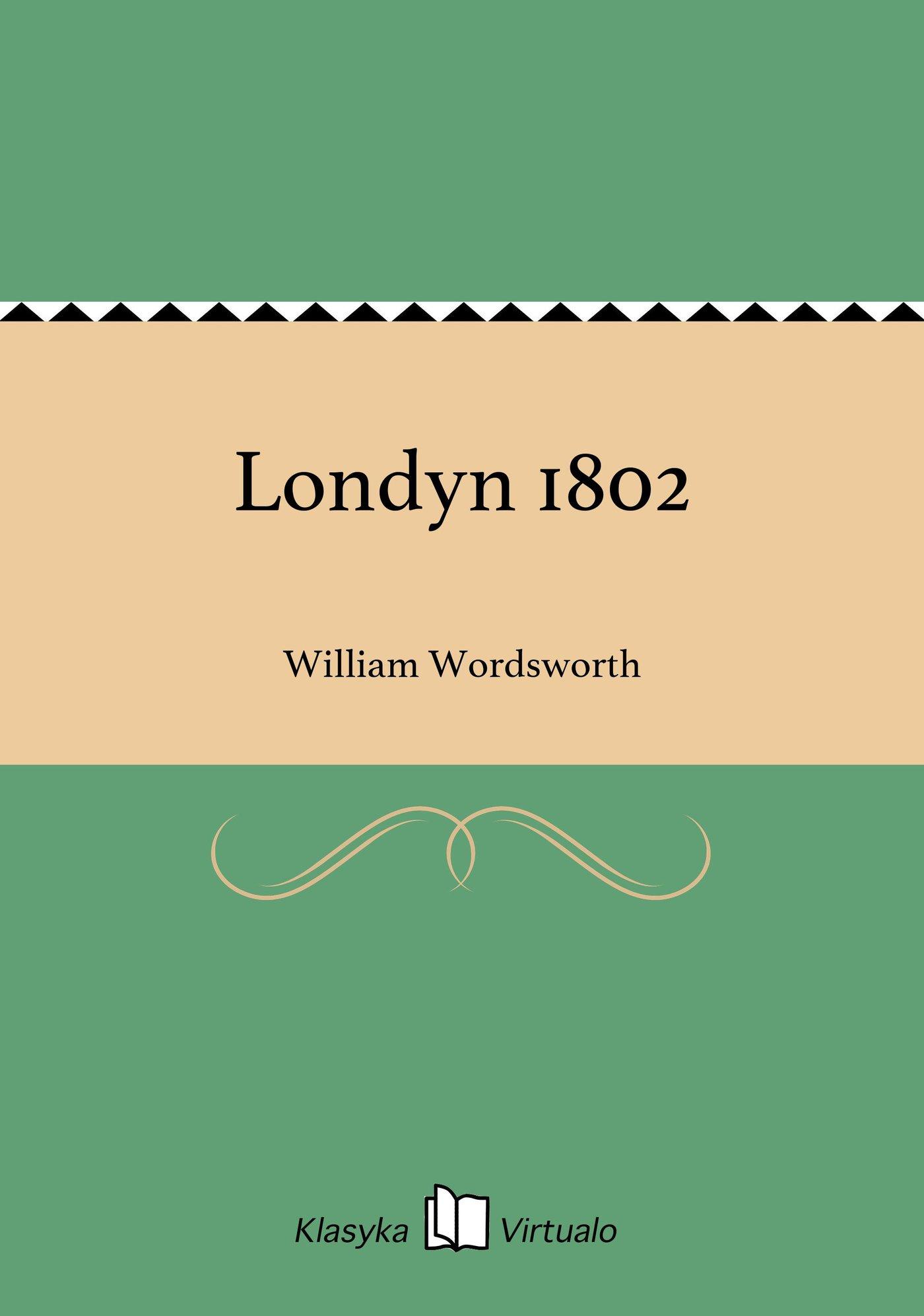 Londyn 1802 - Ebook (Książka EPUB) do pobrania w formacie EPUB