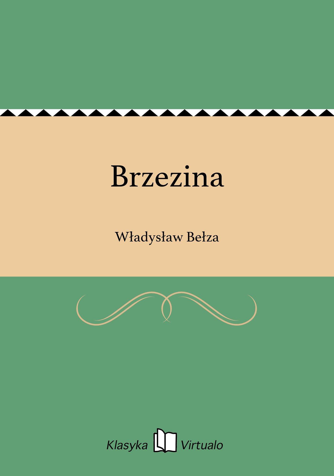 Brzezina - Ebook (Książka EPUB) do pobrania w formacie EPUB