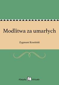 Modlitwa za umarłych - Zygmunt Krasiński - ebook