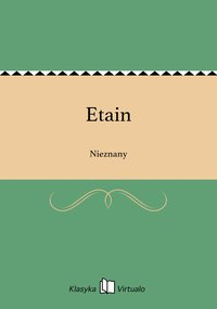 Etain - Nieznany - ebook