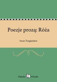 Poezje prozą: Róża