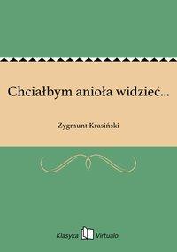 Chciałbym anioła widzieć... - Zygmunt Krasiński - ebook
