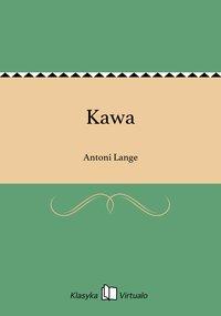 Kawa - Antoni Lange - ebook