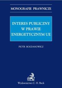 Interes publiczny w prawie energetycznym UE