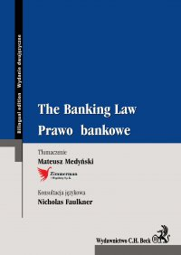 The Banking Law. Prawo bankowe - Mateusz Medyński - ebook