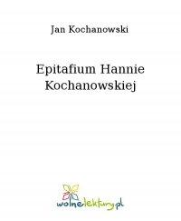 Epitafium Hannie Kochanowskiej