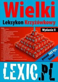 Wielki Leksykon Krzyżówkowy LEXIC.PL