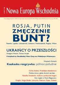 Nowa Europa Wschodnia 2/2012 - Jadwiga Rogoża - eprasa