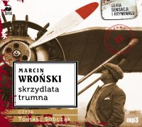 Skrzydlata trumna - Marcin Wroński - audiobook