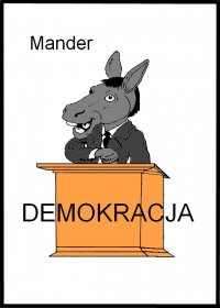 Demokracja - Mander - ebook