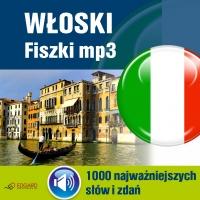 Włoski Fiszki mp3 1000 najważniejszych słów i zdań (nagrania mp3)