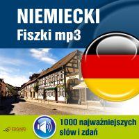 Niemiecki Fiszki mp3 1000 najważniejszych słów i zdań (nagrania mp3)