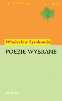 Poezje wybrane - Władysław Syrokomla - ebook