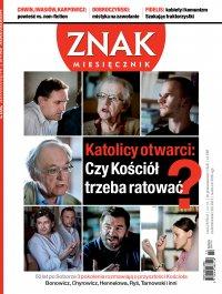 Miesięcznik Znak. Październik 2012