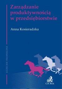 Zarządzanie produktywnością w przedsiębiorstwie - Anna Kosieradzka - ebook