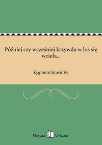 Później czy wcześniej krzywda w los się wciela... - Zygmunt Krasiński - ebook