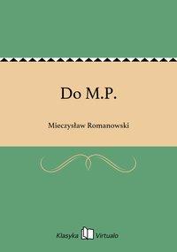 Do M.P.