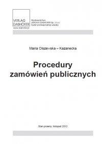 Procedury zamówień publicznych