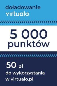 Doładowanie punktów Virtualo - 5000 punktów