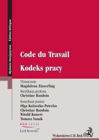 Kodeks pracy. Code du Travail - Magdalena Zinserling - ebook