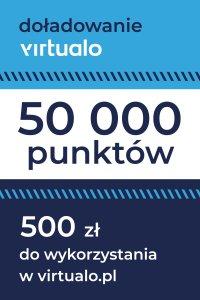 Doładowanie punktów Virtualo - 50000 punktów -