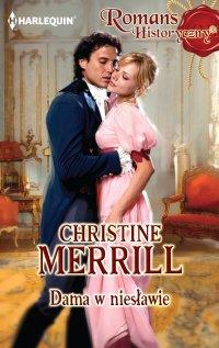 Dama w niesławie - Christine Merrill - ebook