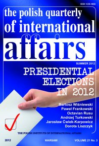 The Polish Quarterly of International Affairs 3/2012 - dr Marcin Zaborowski - eprasa
