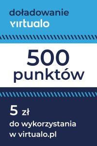 Doładowanie punktów Virtualo - 500 punktów -